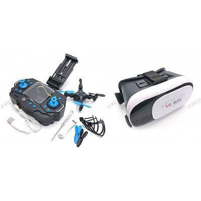 HELIWAY 901S Drone RC quadcopter + VR 3D Headset BOX - ready to fly FPV COMBO