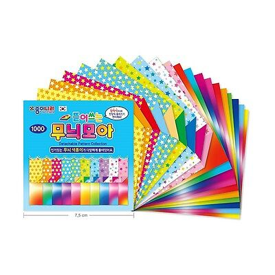 Origami Crane Folding Paper 30 Colors 80 Sheets : Detachable Pattern