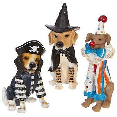 Raz Imports Halloween Decorations (Raz Imports Halloween Decor - Costume Dogs 3pc)