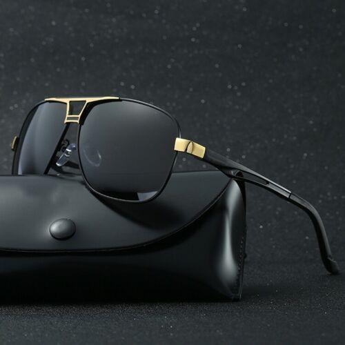 Style Men's Polarized Pilot Sunglasses Outdoor Driving Sun G