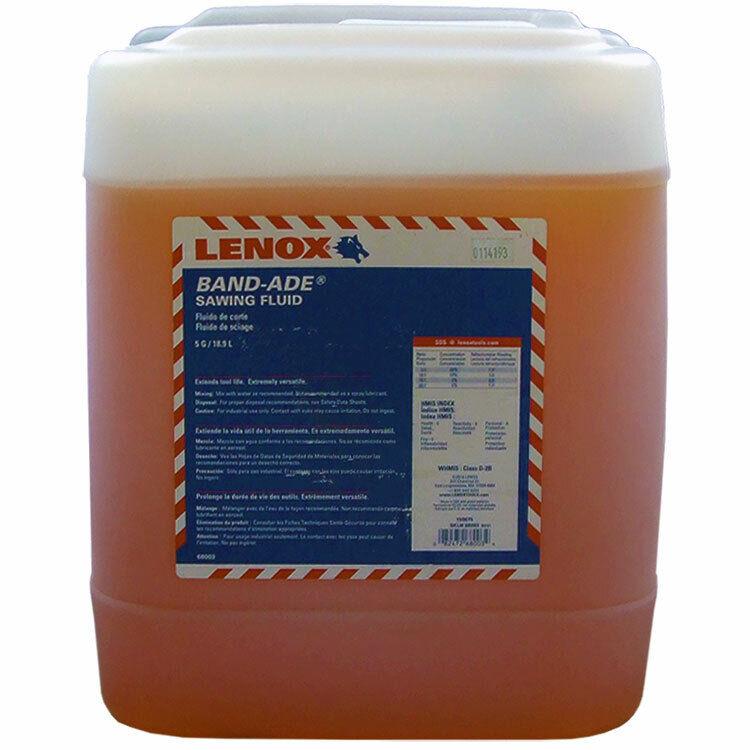 Lenox Band-Ade ® Band Saw Fluid 5-gallon