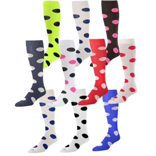 Twin City Polkadot Fastpitch Softball Team Socks - Women
