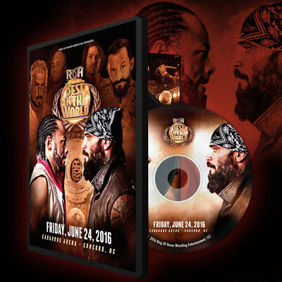 Ring of Honor - Best in the World - Concord 6/24/16 DVD, ROH Jay Lethal