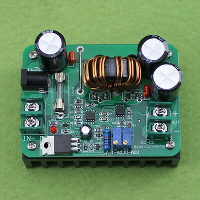 600w Dc 10-60v To 12-80v Step-up Boost Converter Car Power Supply Charger Module