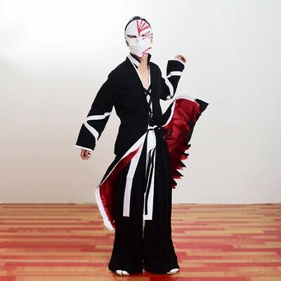 New Bleach Kurosaki Ichigo Cloak Robe Outfit Xmas Gift Halloween Cosplay Costume](Bleach Ichigo Halloween Costumes)