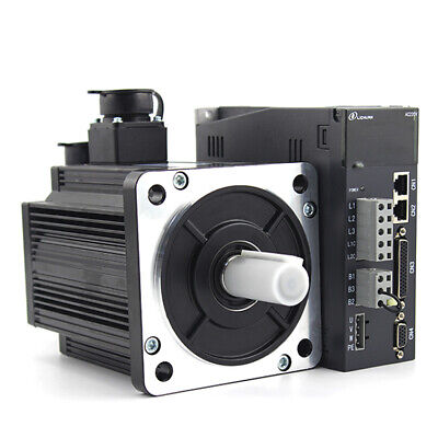 1kw Ac 220v Servo Motor 10n.m 130st-m010010 Servo Driver Kit For Cnc Machines