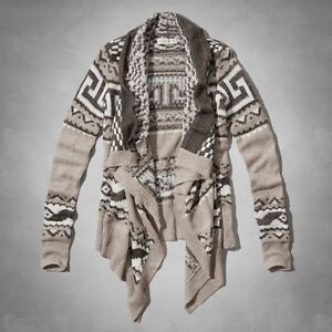 ABERCROMBIE & FITCH WATERFALL CARDIGAN-BRAND NEW!