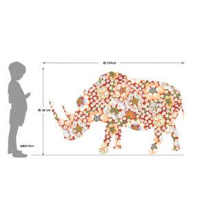 Poster affiche rhinocéros garderie / chambre enfant / bébé