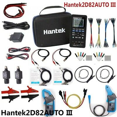 Hantek2d82auto Iii 4-in-1 Automotive Diagnostic Oscilloscope Signal Source Pe66