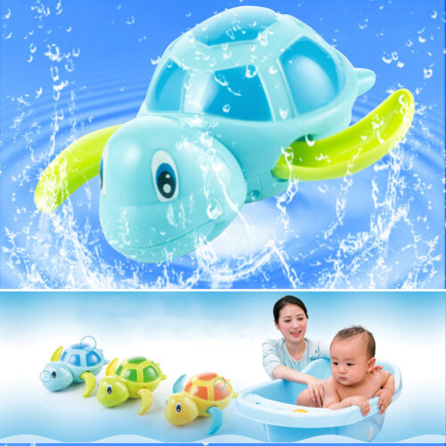 New Swimming Animal Turtle Pool Toys for Baby Children Kids Toddler Bath Time