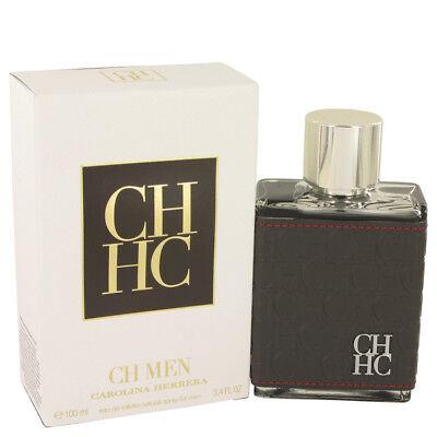 Carolina Herrera Ch Men Cologne 3 4 Oz 1 7 Oz Edt Spray New In Box Sealed Spray