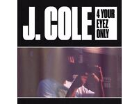 (7) J. COLE (FOR YOUR EYEZ ONLY TOUR) STANDING TICKETS FOR SALE - LONDON O2