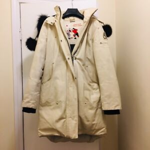 MOOSE KNUCKLE PARKA BEIGE