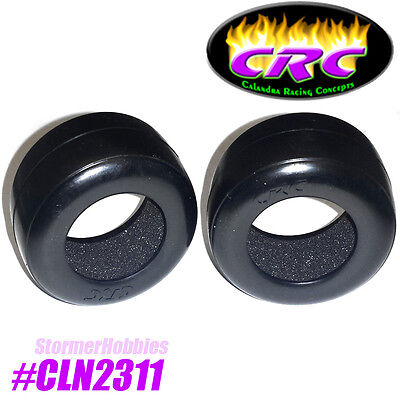 Crc 1 10 Pan   Oval Cars Rt1 Rubber Front Tires W  Insert Cln2311  Gtr And F1