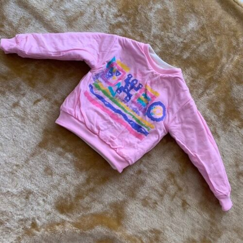 Vintage SEARS kids reversible thick sweater 3/4/5T toddler NWT