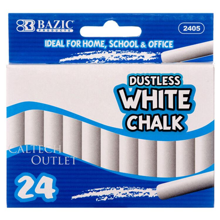 24PC White Chalk