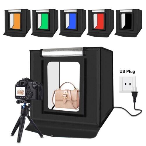 PULUZ Light Box Portable Photo Studio 16in / 40cm Tent LED 5500K Folding