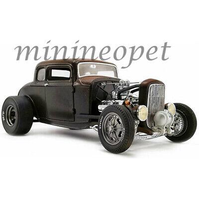 ACME A1805017 PORKCHOP'S CHOP SHOP 1932 FORD 190 PROOF 1/18 MATTE BLACK