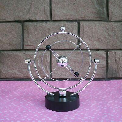 Kinetic Orbital Revolving Gadget Perpetual Motion Desk Art Toy Office Decoration