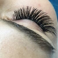 Lash extensions. PROMO. Accepting new clients.