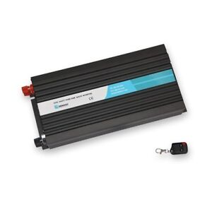 Renogy 2000W 12V Off-Grid Pure-Sine Wave Inverter w/ Cables