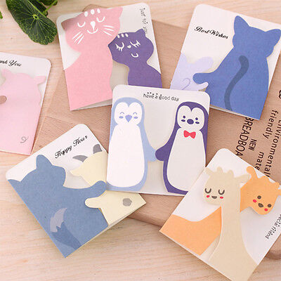 Festival Greeting Cards Message Memo Cartoon Card Party Supply Gift Prize Paper