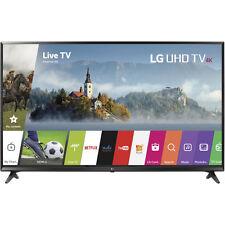 "LG 65UJ6300 65"" Black UHD 4K LED HDR Smart HDTV With WebOS 3.5"