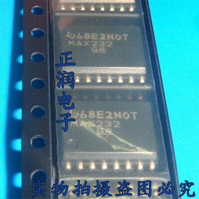 5pcs Max232 Dual Ela-232 Driversreceivers Max232dwr Sop16
