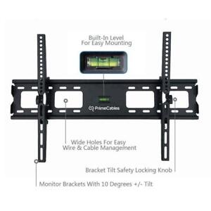 "TV wall mount - tilt, accepts curved screens, up to 70"", 121lbs"