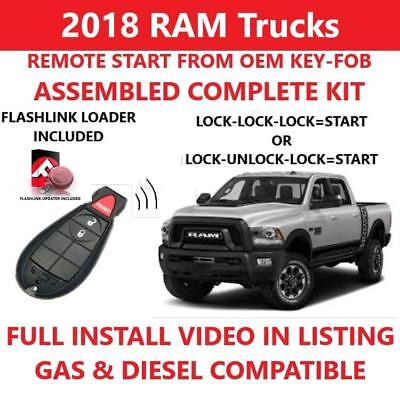 Plug and Play Remote Start for 2018 RAM 1500 2500 3500 4500