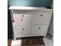 Ikea Hemnes shoe storage unit