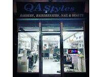 Experienced Nail Technician Required (Day Rate & Commission)