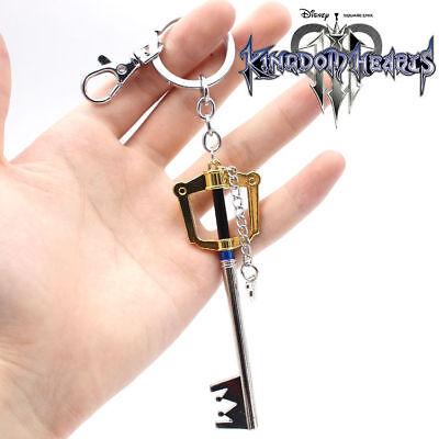 Kingdom Hearts Keyblades (Kingdom Hearts Kingdom Key Keyblade Keychain Sora Roxas Cosplay Gold 1.5 2.5 3)