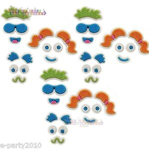 WILTON-FUNNY-FACE-ICING-DECORATIONS-Birthday-Party-Supplies-cake-cookies-SMILE