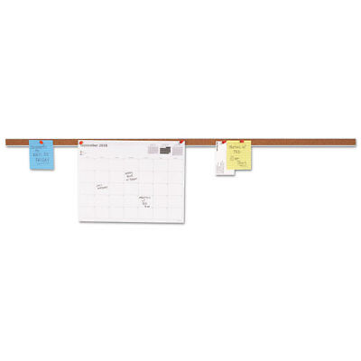 Universal Cork Bulletin Bar Brown 36 X 1 43436