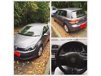 12 MONTHS MOT! 1.6 TDi SE Volkswagen Golf Mk6 Hatchback Diesel Bluetooth Sensors, 2 NEW FRONT SHOCKS