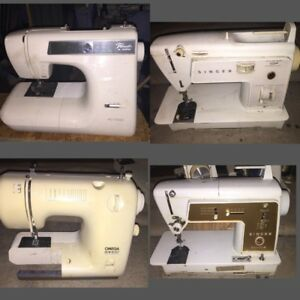 A lot of Sewing Machines