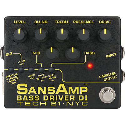 Tech 21 BSDR-V2 SansAmp Bass Driver DI