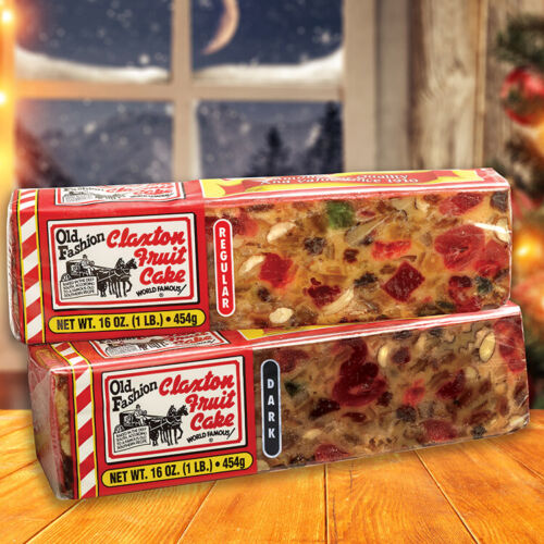 Claxton Fruit Cake Regular-Dark Sampler - Online Special - $18.95