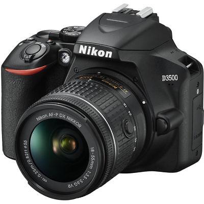 Nikon D3500 Digital SLR Camera w/ AF-P DX 18-55mm VR Lens Kit 1590