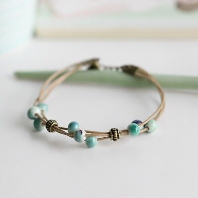 Beads Bracelets Fashion Hand-Woven Ceramic For Ladies Accessories Jewelries - Girls Hand Accessories