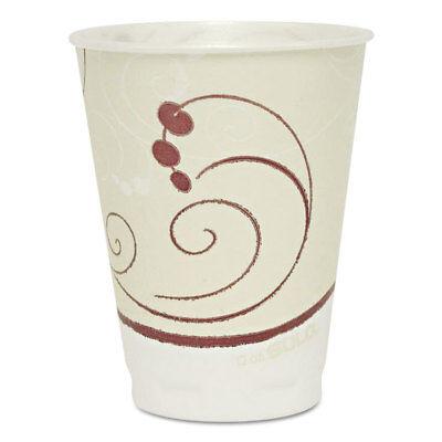 (Dart Symphony Design Trophy Foam Hot/Cold Drink Cups 12oz 300/Carton)
