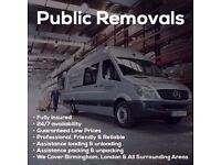 Cheap Man & Van 15/ph professional removals Last Minute Booking