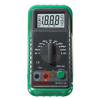 Mastech My6013a Multimeter Capacitor Tester Tecrep Digital Capacitance Meter Usa