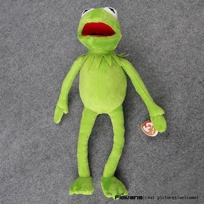 Kermit The Frog Hand Puppet Memes Toy Jim Henson Soft Plush Doll Full Body 40cm