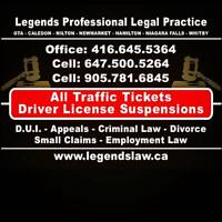 Whitby Traffic Tickets Specialist