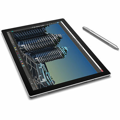 """Microsoft 12.3"""" Surface Pro 4 128GB m3 Multi-Touch Tablet (Silver) - SU3-00001"""