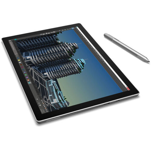 Microsoft 12.3 Surface Pro 4 128GB m3 Multi-Touch Tablet Silver - SU3-00001