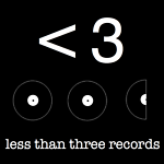 less than three records