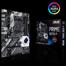 Asus Prime X570-P (AMD AM4) DDR4 X570 Chipset ATX Motherboard
